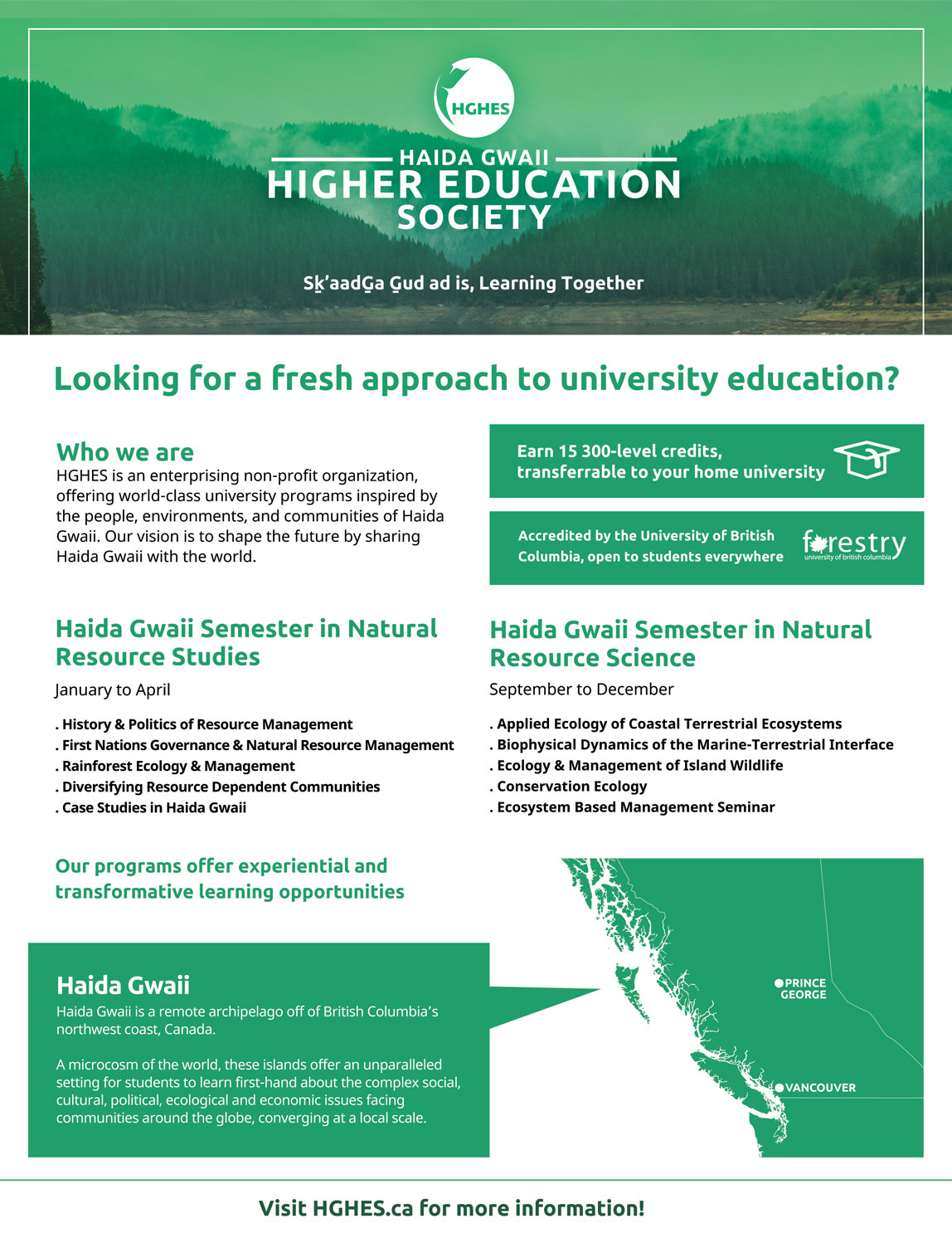 Scholarships For Natural Resources Students