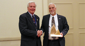 Peter Marshall awarded CIF Presidential Award