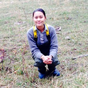 Grace Zheng (Forest Resources Management)
