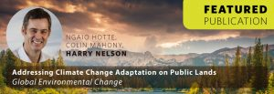 Addressing Climate Change Adaptation on Public Lands