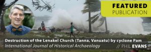 Destruction of the Lenakel Church (Tanna, Vanuatu) by cyclone Pam