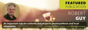 An important role for carbonic anhydrase in photosynthesis and local adaptation